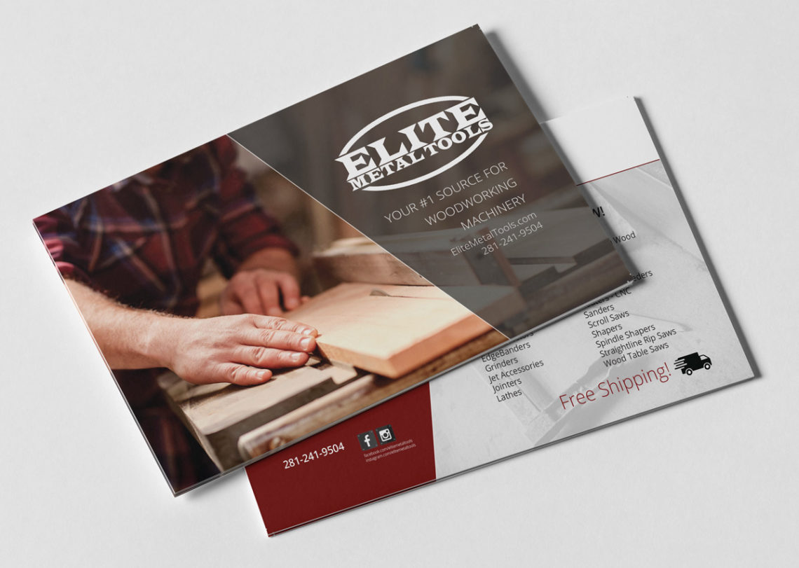 elite metal tools print brochure maatstudio michigan