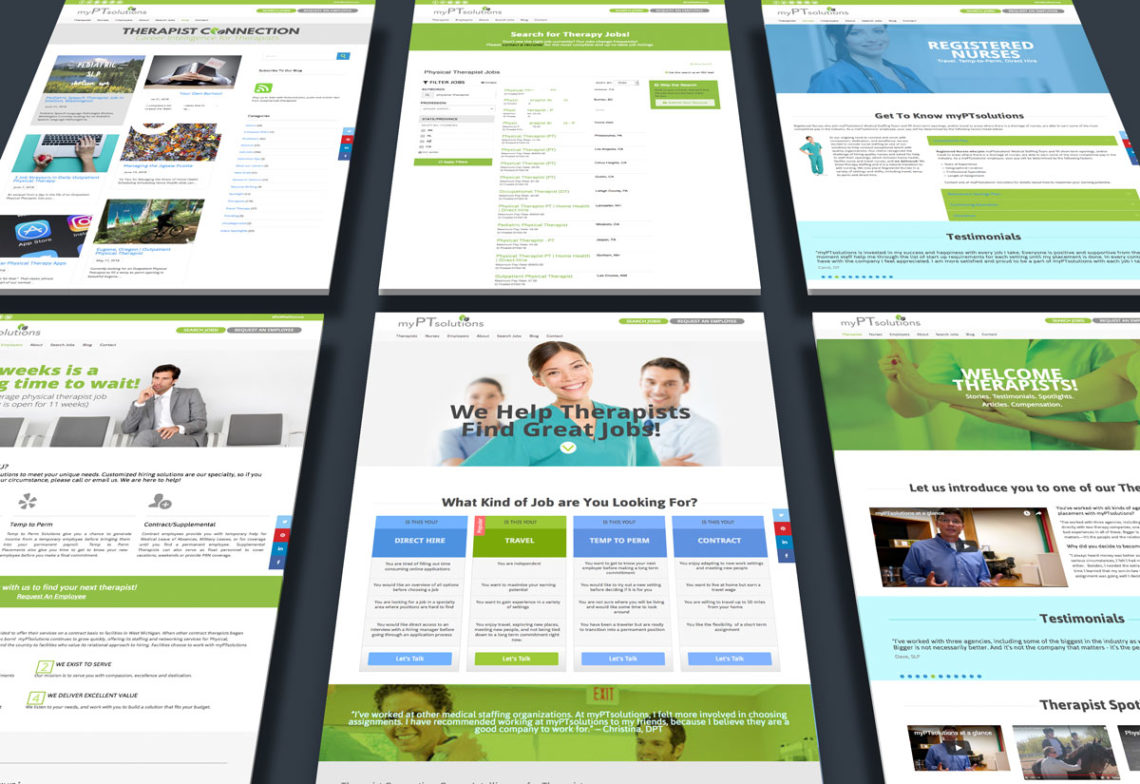 myPTsolutions website maatstudio michigan