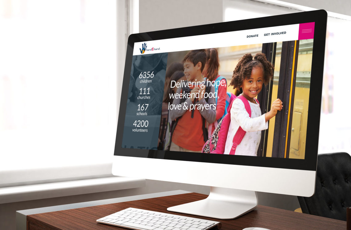 computer displaying website